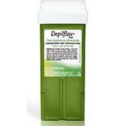 """Воск в картридже """"Depilflax"""" (Испания) 110мл оливковый фото"""