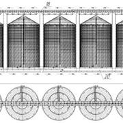 Проектирование, монтаж, пуско-наладка и сдача под ключ зернохранилищ и зерносушильных комплексов фото