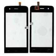 Сенсорное стекло (тачскрин) для Explay Hit черное, Диагональ 4 фото