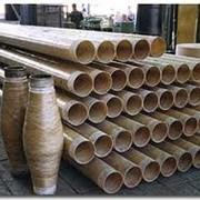 Стеклопластиковые трубы для промышленных вод фото