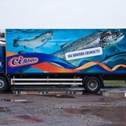 Брендирование транспорта и торговых автофургонов под заказ, Киев фото