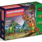 Конструктор Magformers Walking Dinosaur (оживший динозавр 81) фото