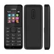 Телефон Nokia 105 duаl sim Black фото