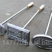 Клейма для маркировки поддонов (деревянных паллет) фото