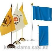 Настольный флагшток фото