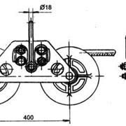 Зажим поддерживающий глухой ПГУ-5-1 фото