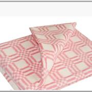 Одеяло байковое цветное в клетку 205х140 фото