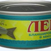 Консервы рыбные в масле ЛЕЩ фото