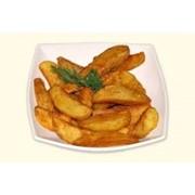 Доставка блюд домашней кухни - Картофель «По-деревенски» фото