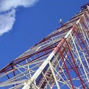 Монтаж башен связи фото
