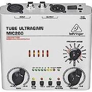 Микрофонный предусилитель Behringer Tube Ultragain MIC200 фото
