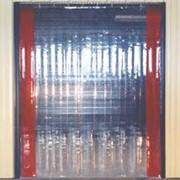 Завесы морозостойкие ленточные гибкие прозрачные фото