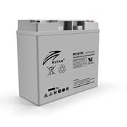 Аккумуляторная батарея AGM RITAR RT12170H, Gray Case, 12V 17.0Ah ( 181 х 77 х 167 ) Q4 фото