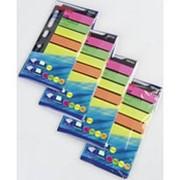 Закладки SIGMA 4 цвета 6х25л, 4шт фото