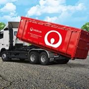 Вывоз строительных и негабаритных отходов контейнерами ёмкостью11м3, 15 м3,23м3, 36м3. фото