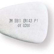 Фильтр 3М 5925 предварительный от пыли и аэрозолей для масок 6000/7500 фото