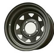 ORW ORW диск стальной 5x139.7 УАЗ 8х16 ET-25 d110 матовый черный фото