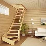 Тетива лестницы 50мм х 300мм 3,5м ель сорт АВ с сучком фото