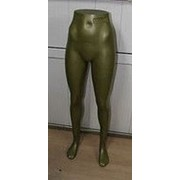 Манекен ноги женские GOLD металлик фото