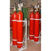 Модули - Установка газового пожаротушения МГП-2-80 для тушения пожаров классов А (твердые материалы), В (жидкость), С (газы), Е (электрооборудование) объемным и локальным способом. фото