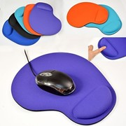 Силиконовый коврик для мыши с поддержкой запястья, красный фото