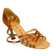 Ray Rose Обувь женская для латины 860 Kalahari ULTRA-FLEX, Dark Tan Satin фото