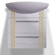 Подвесная тумба в ванную Греция золото 60/65/70/80 фото