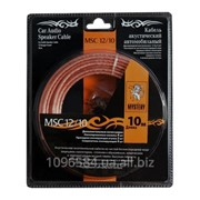 Акустический кабель+клеммы для обжима MSC -12/10, 10 м в блистере,12 Ga,2х2.5 мм фото