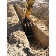 Выкопать котлован, ямы, пруды фото