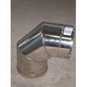 Колено из нержавеющей стали: 90 (фиксов), 0,5 мм, диаметр (ф150) фото