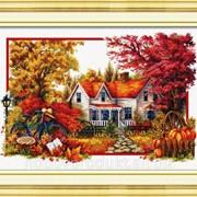 """Набор для вышивания """"Наступает осень"""" 100206 фото"""