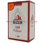 Фильтры для самокруток Gizeh, уп-100шт фото