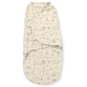 Конверт Summer Infant Конверт на липучке SwaddleMe Organic®, размер S/M, кремовый/зайчики фото