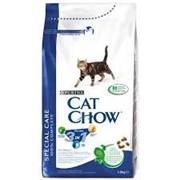 Сухой корм для кошек CAT CHOW FELINE 3IN1 15 кг фото