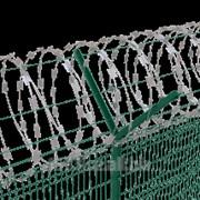 Спиральный и плоский барьер безопасности Егоза фото