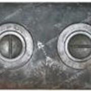 Плита 2-х комфор. (кокель) чугунная 410мм*710мм №100950 фото