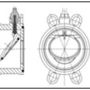 Обратный клапан AGRU K4 PVDF (ПВДФ) d75-280 мм фото