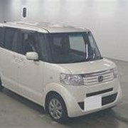 Микровэн HONDA N BOX PLUS кузов JF1 класса минивэн модификация G L Package гв 2012 пробег 86 т.км жемчужный фото