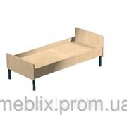 Кровать для общежитий одноместная взрослая 1940 х 840 х 650h фото