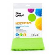 Салфетка для уборки пыли из микрофибры Fun Clean 30*30см фото