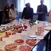 Дегустация пищевых продуктов фото