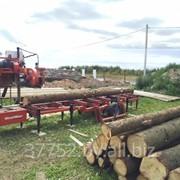 Распиловка леса на дому заказчика фото