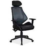 Кресло компьютерное Signal Q-406 (черный) фото