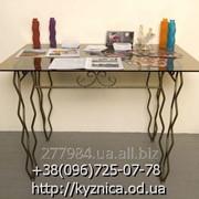 Кованый стол Модель КСТ-028 фото