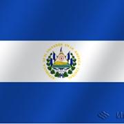 Флаг национальный Сальвадор фото