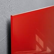 Стеклянная магнитно маркерная доска 45х45 см фото