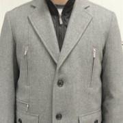 Химчистка пиджака утепленного (из пальтовой ткани) фото