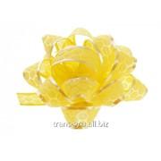 Бант-звезда №5 Соты , цвет жёлтый фото