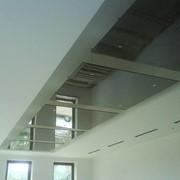 Потолок стеклянный фото
