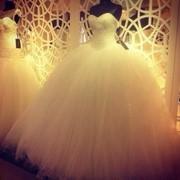 Дизайнерское свадебное платье фото